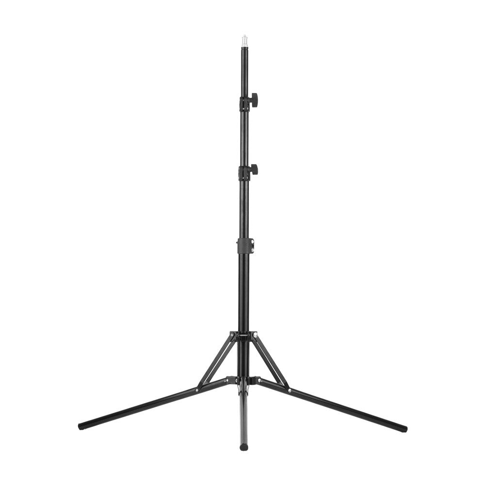 Adjutable Aluminum Alloy Light Stand Holder Bracket with 1/4 Inch Screw for Studio Photography Video Shooting Max Length 200cm / 6.5ft - Inntelly