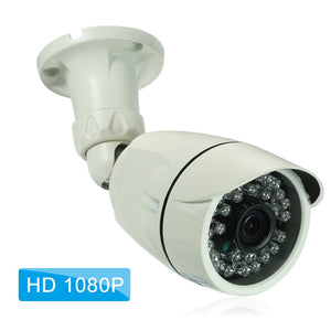 "1080P HD IP Camera 2.0MP Bullet Cam 1/2.7"" CMOS IR Lens 3.6mm H.265/H.264 Night View IR-CUT Network Onvif P2P Android iPhone Remote View Motion Detection Waterproof CCTV Camera Baby Monitor 1920*1080 Home Security - Inntelly"