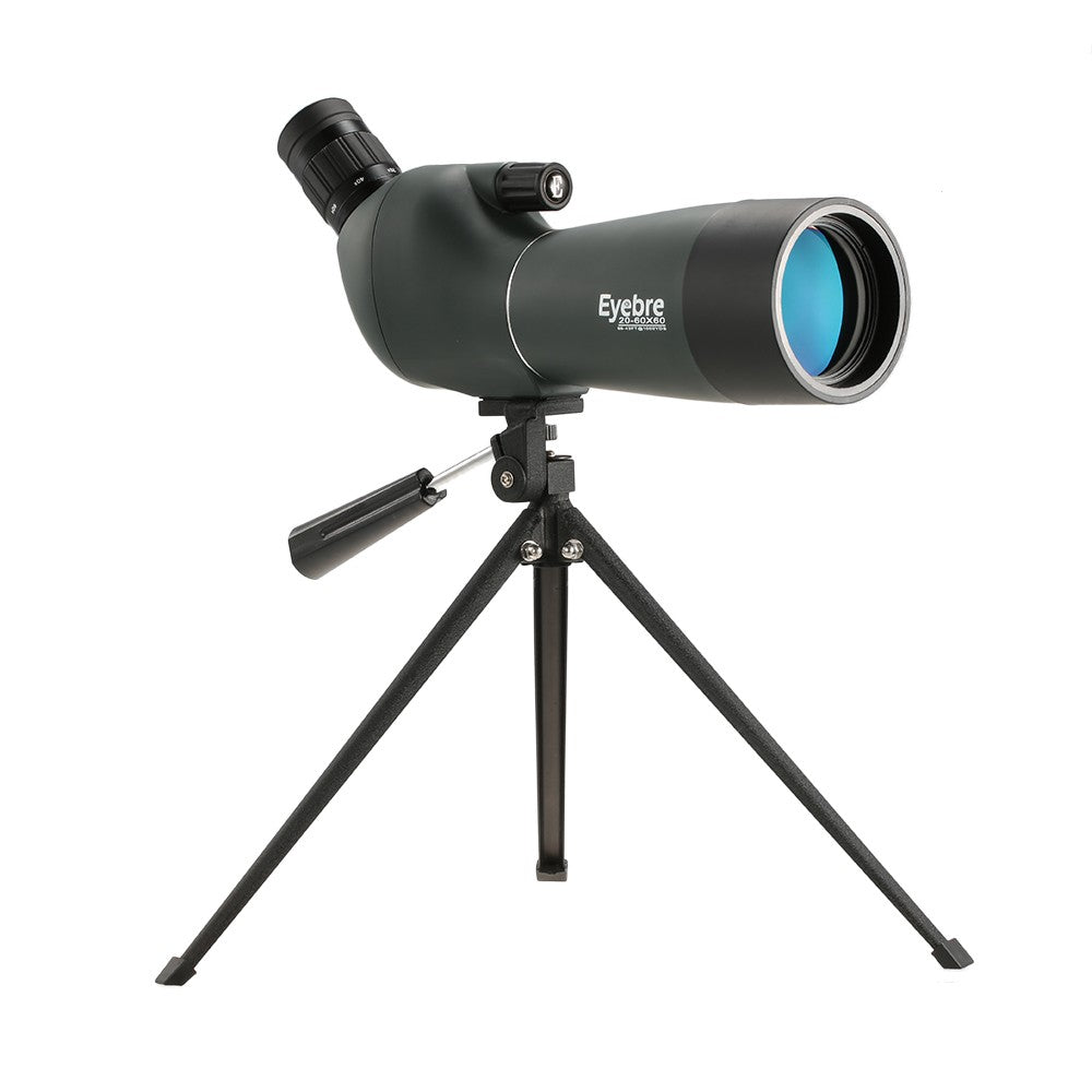 20-60x60 Angled Waterproof Spotting Scope Outdoor Hiking Bird Watching Portable HD Monocular Telescope with Tripod Carry Case - Inntelly