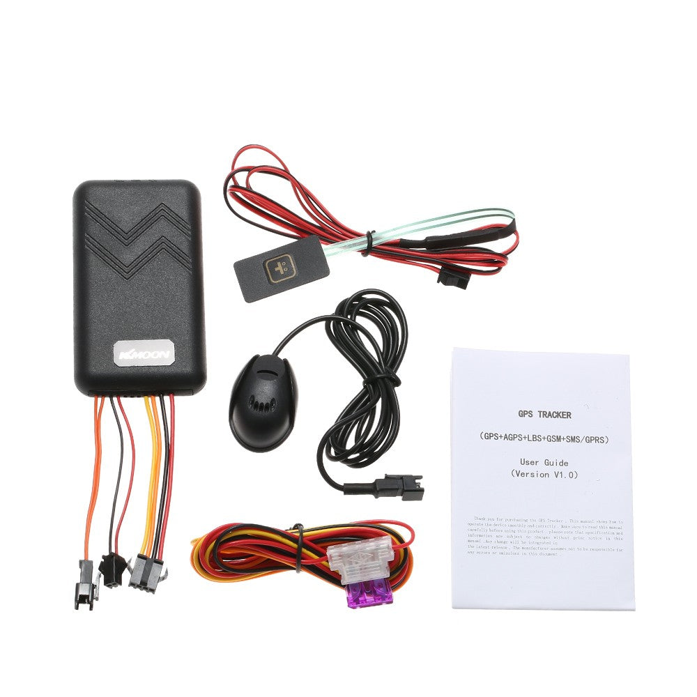 KKmoon GT06 GPS Real Time Tracker Car Motorcycle Electric Bike GSM GPRS  Vehicle Tracking Device