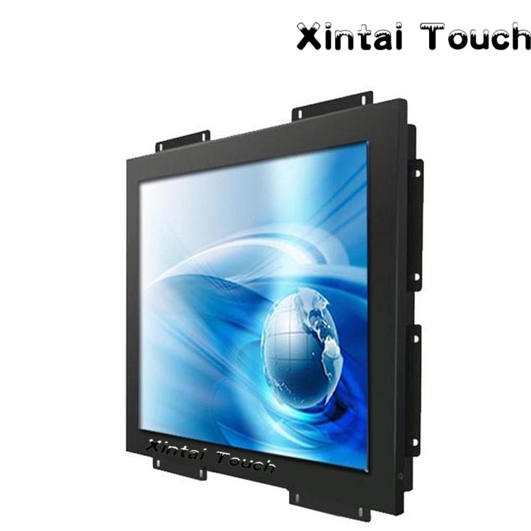 17 inch open frame touch monitor A+ Grade perfect panel with 5 wire resistive touch design for ATM machines and kiosk euipments - Inntelly