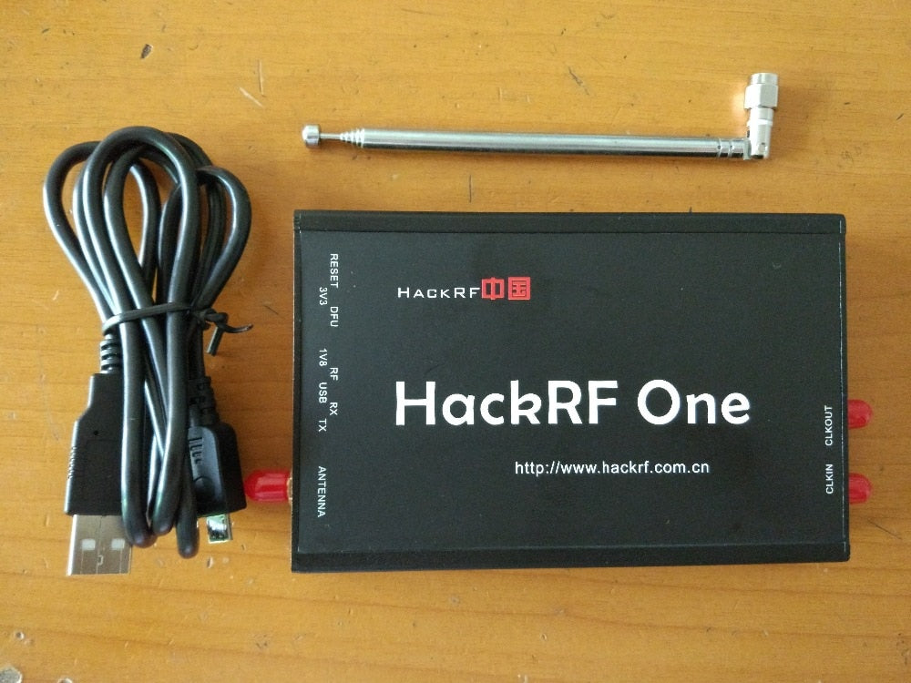 HackRF One 1 MHz to 6 GHz SDR Platform Software Defined Radio with external  precision TCXO clock PPM 0 1