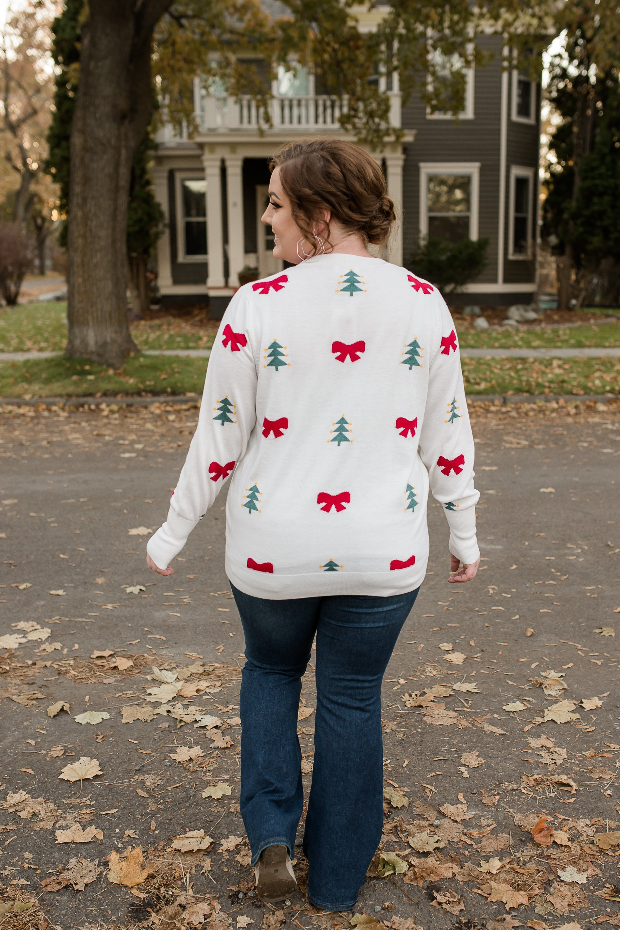 To Santa With Love & Bows Sweater