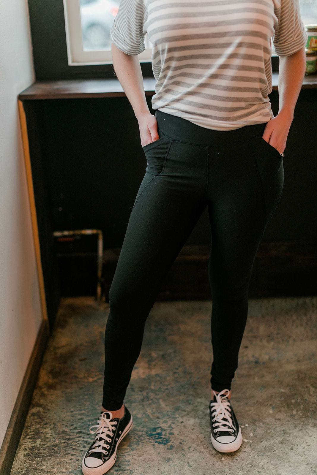 Work It Out Yoga Leggings With Pockets