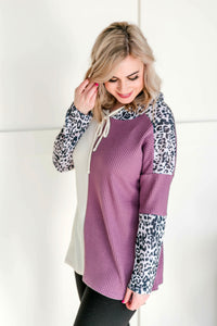 On The Chopping Block Leopard Hoodie
