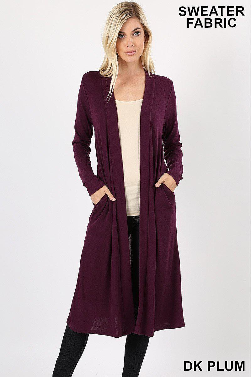 Jaylynn Hacci Sweater Dark Plum