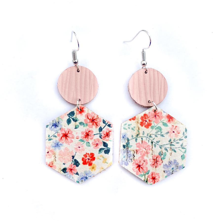 Elsa Earrings Fiesta Floral