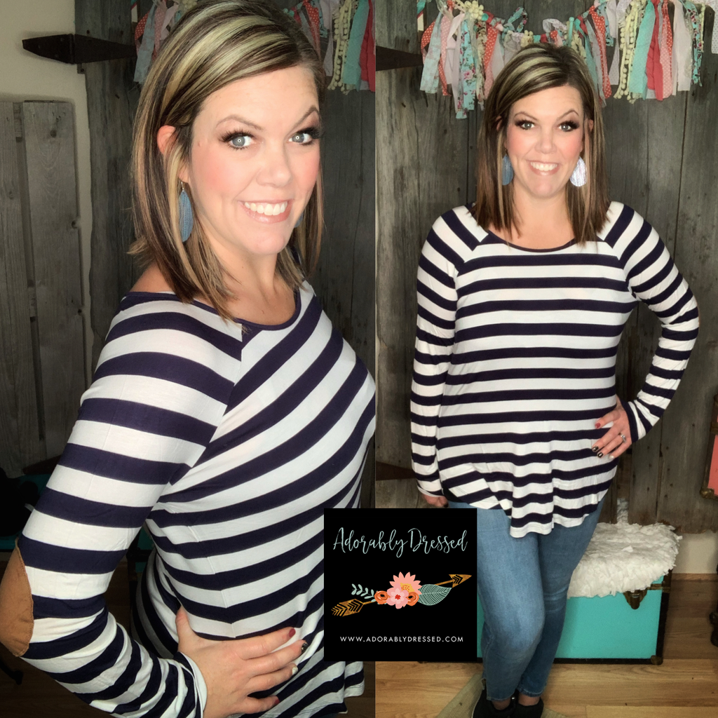 Sasha Striped Top