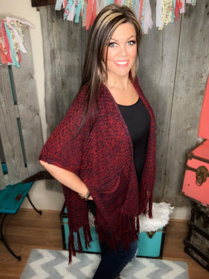 Ryleigh Sweater Red