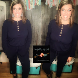 Jenni Jumpsuit Navy