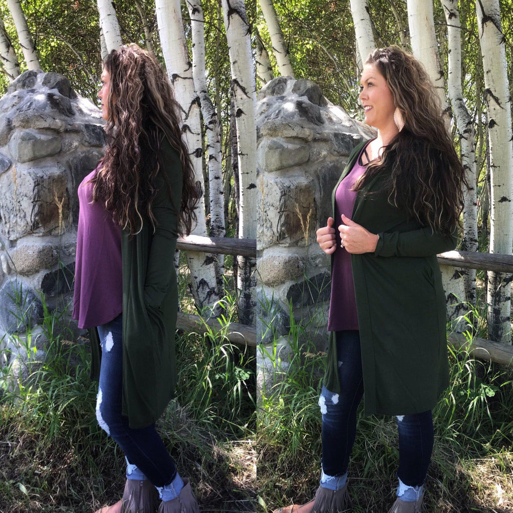 Montanna Duster Army Green