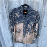 Kesslyn Distressed Long Sleeve Large