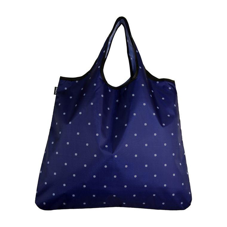 YAY Novelty Bag Navy Dot Regular