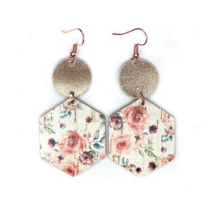 Elsa Earrings Rose Water