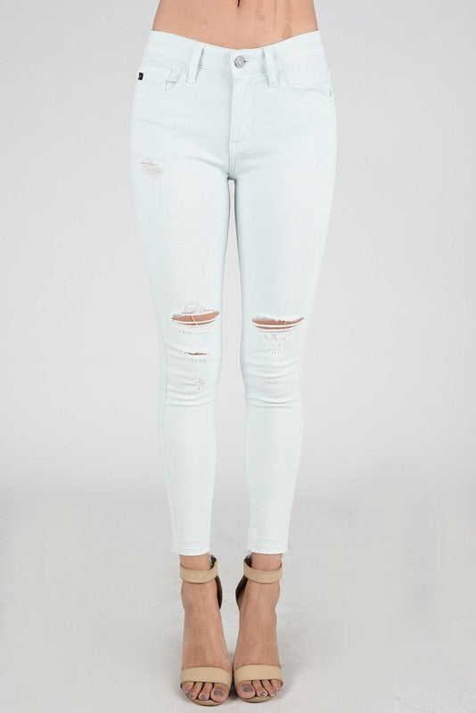 Cambri Mint Skinnies Kan Can