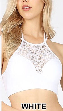 Bentley Bralette White