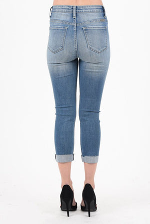 Canyon Denim Capris Kan Can