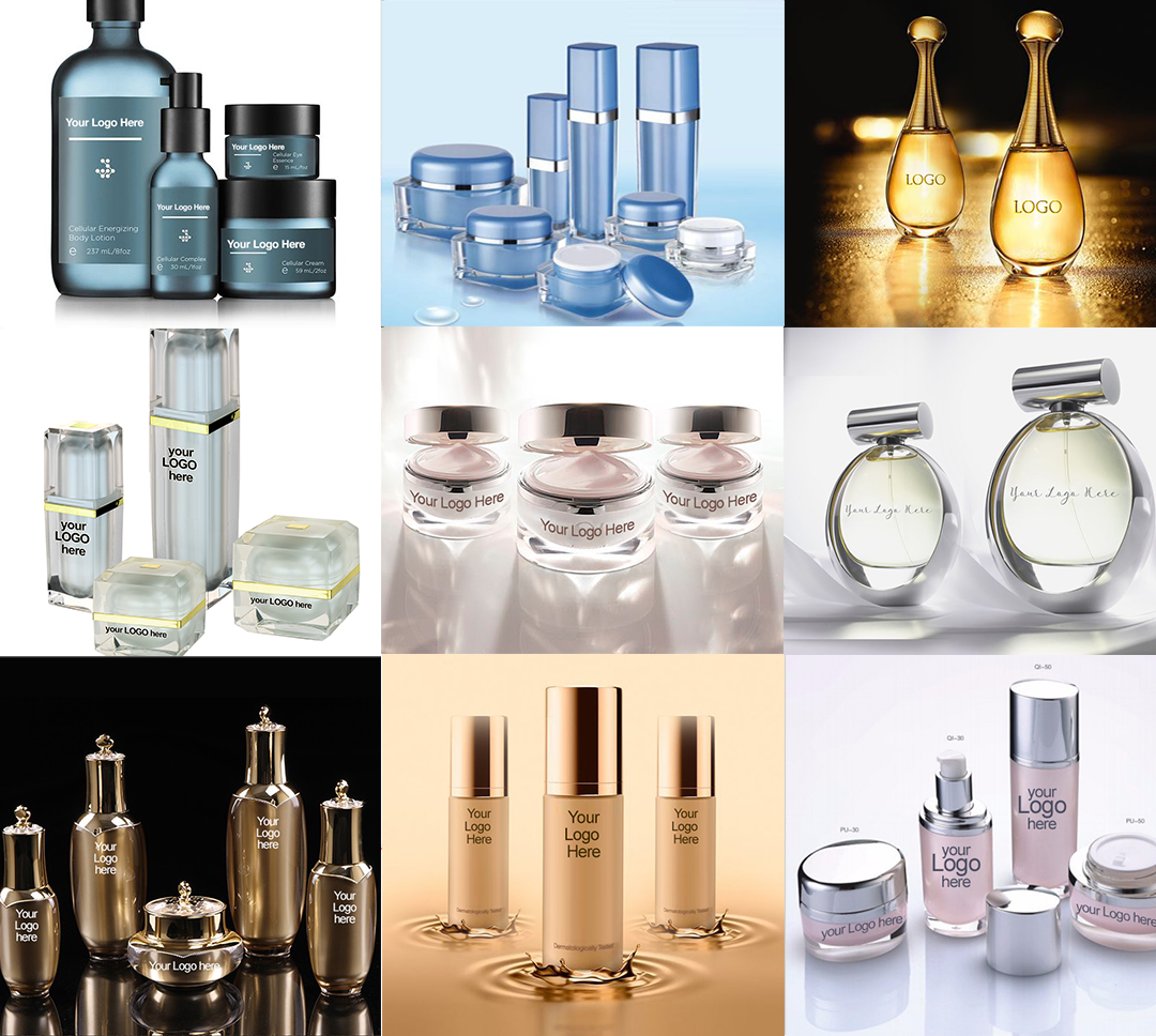 Luxury Glass Jars & Bottles