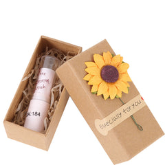 Chicago Kraft Paper Box Lipstick Cosmetic Package