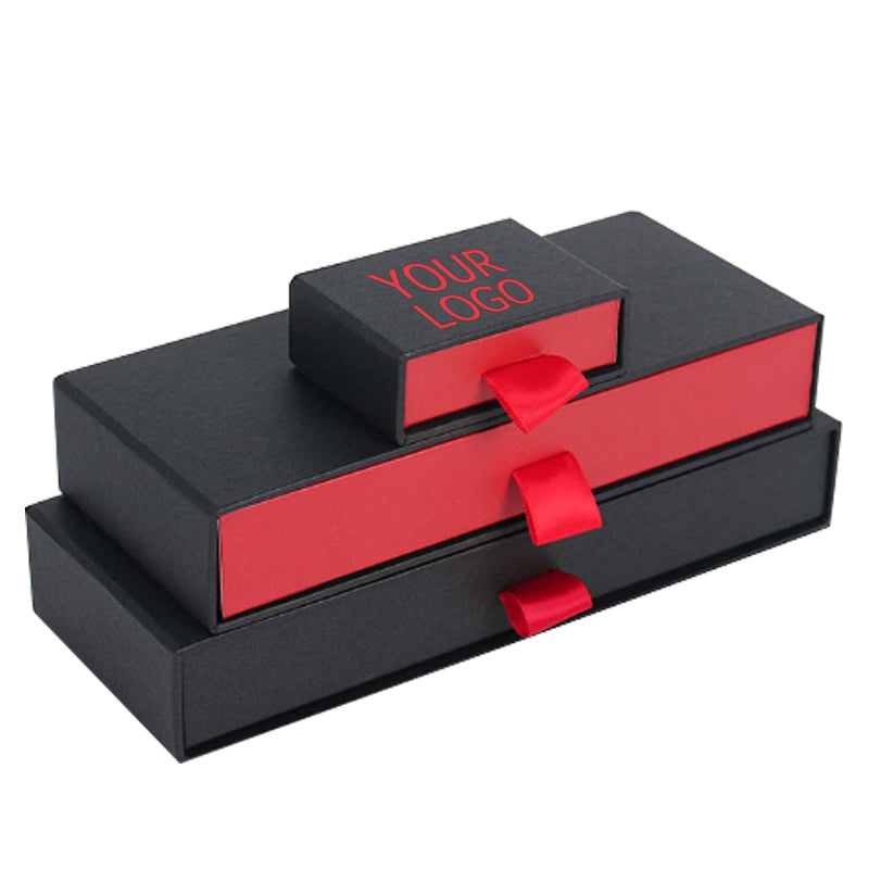 Athens Luxury Black and Red Jewelry Package