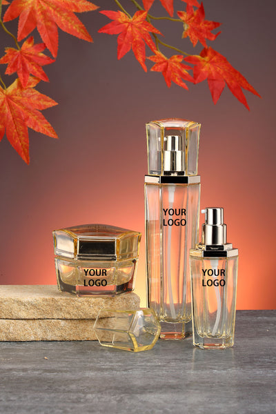 Libson Autumn Theme Gold Luxury Jars