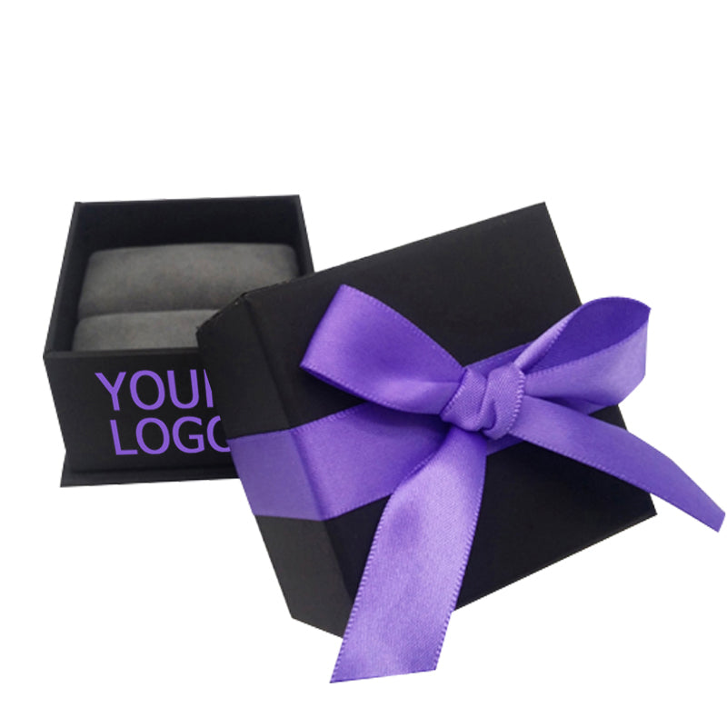 London Square with Ribbon Jewelry Package