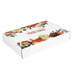Miami Custom Paperboard Book Shaped White Cosmetic Package
