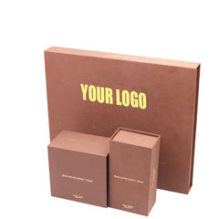 Kuala Lampur Custom Brown Book Shaped Gift Cosmetics Package