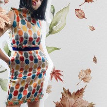 Load image into Gallery viewer, Colorful Dots Dress