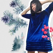 Load image into Gallery viewer, Electric Blue Dress