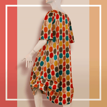 Load image into Gallery viewer, ALine Dots Dress