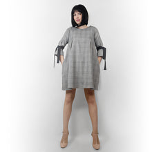 Load image into Gallery viewer, #Tweed BabyDoll Dress