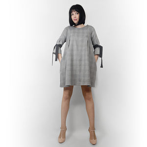 #Tweed BabyDoll Dress