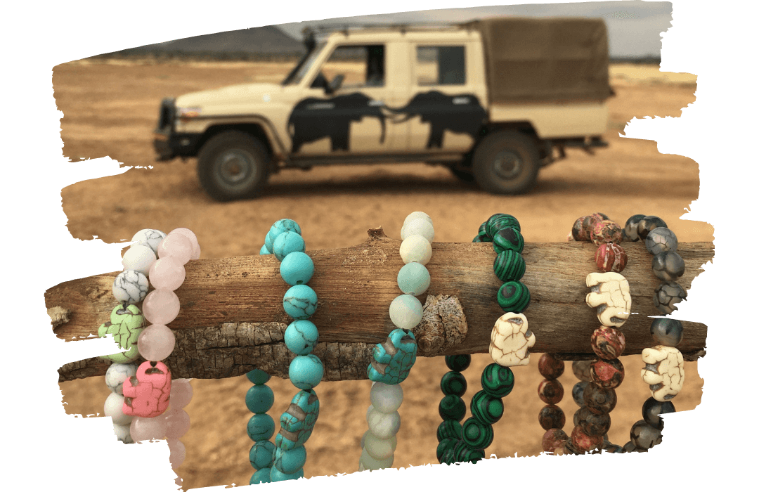 wildlife collections save the elephants tracking bracelets