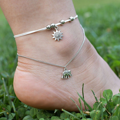The Elephant Anklet | Wildlife Collections