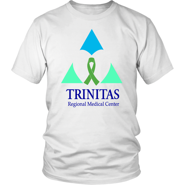 Trinitas Green Ribbon in Heart (Liver Cancer) (2393)