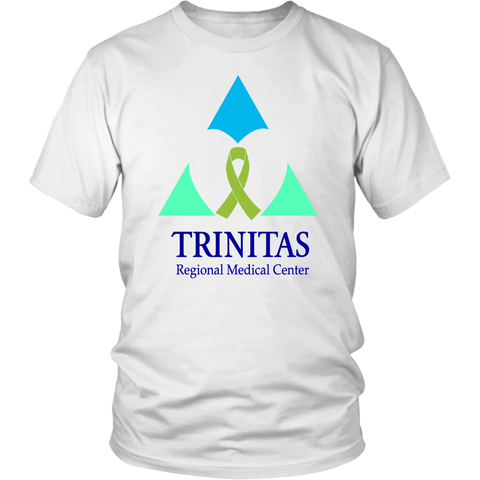 Trinitas Green Ribbon in Heart (Lymphoma) (2394)