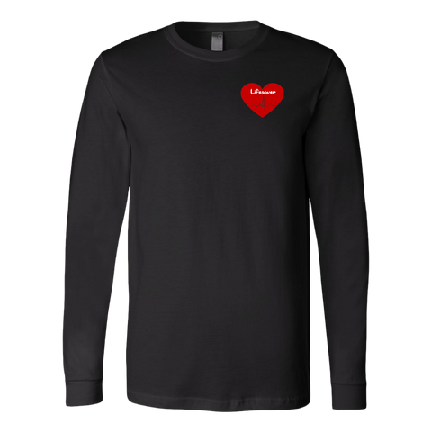 Red Heart Lifesaver LS Shirt