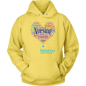 TRMC School of Nursing Heart Word Art (1083)