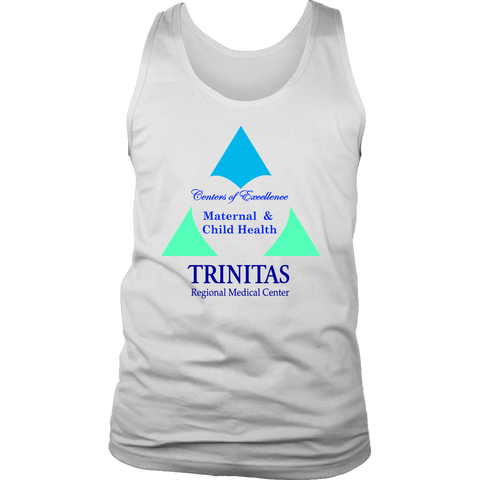 Trinitas Centers of Excellence: Maternal & Child Health (Men's Tank) (1060)