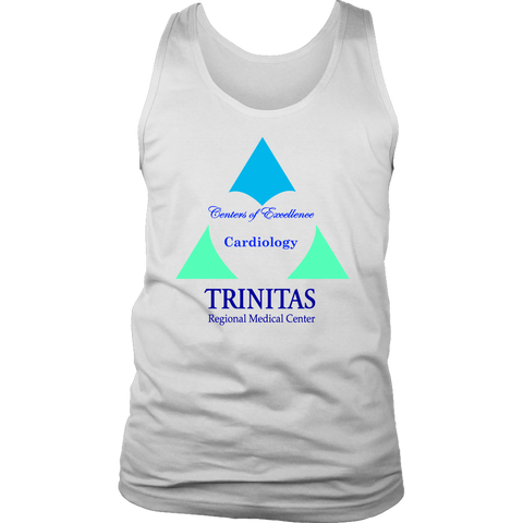 Trinitas Centers of Excellence: Cardiology (Men's Tank) (1050)