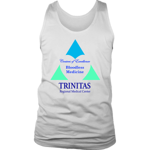 Trinitas Centers of Excellence: Bloodless Medicine (Men's Tank) (1030)