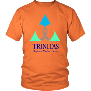 Trinitas Brown Ribbon in Heart (Testicular Cancer) (2634)