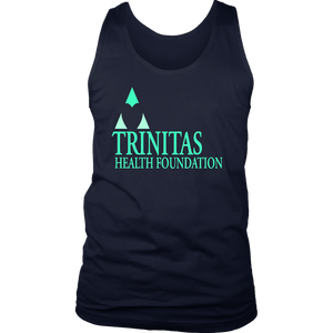 Trinitas Health Foundation Logo (Men's Tank) (1142)
