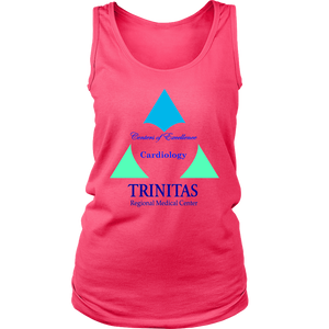 Trinitas Centers of Excellence: Cardiology (Women's Tank)(1050)