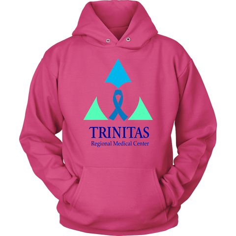 Trinitas Blue Ribbon in Heart (Stomach Cancer) (2396)
