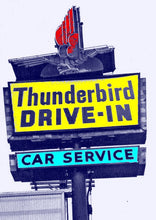 Load image into Gallery viewer, Thunderbird Drive-In Vintage logo Shirt