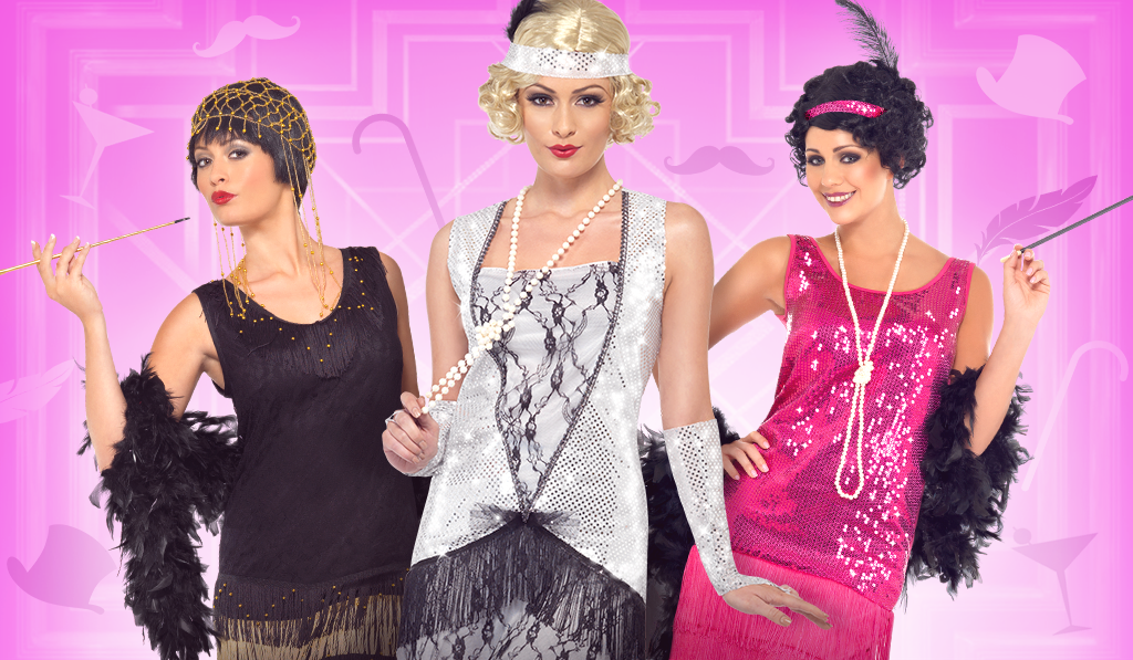 20s flapper fancy dress costumes
