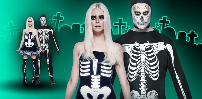 Halloween Couples Skeleton