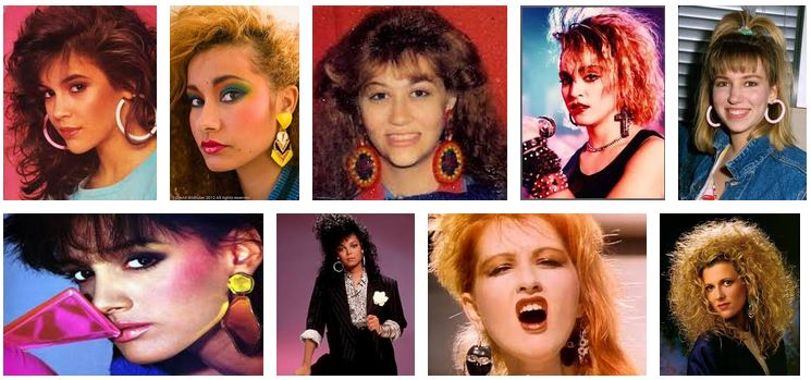 80s big earings